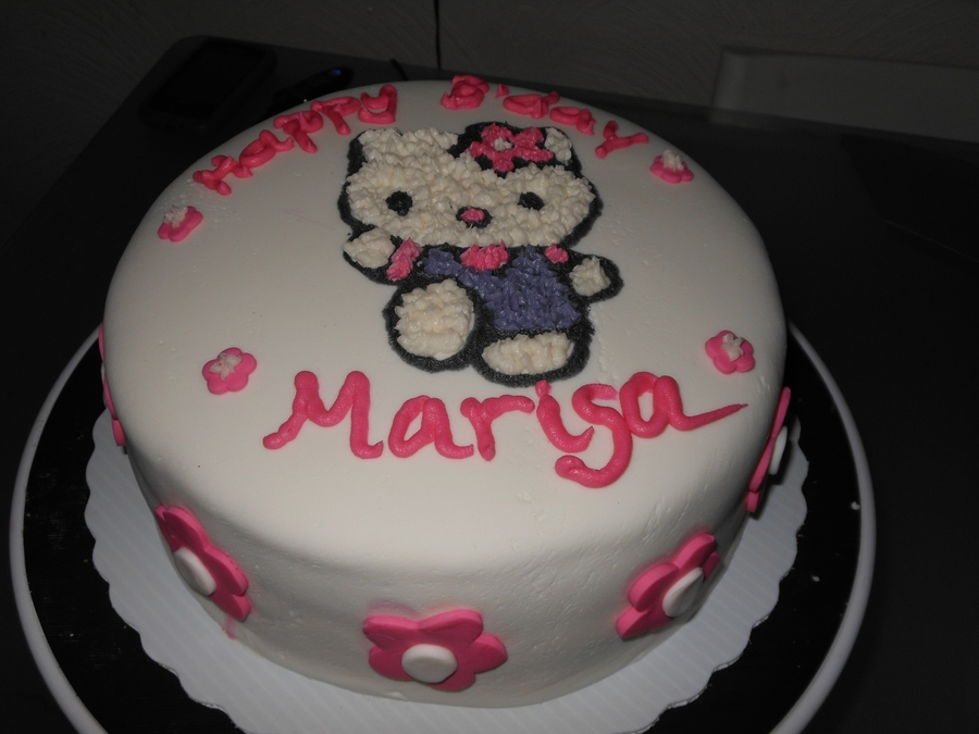 Hello Kitty Bday Cake on Cake Central