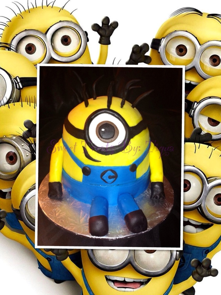 Despicable Me Minion Cake on Cake Central