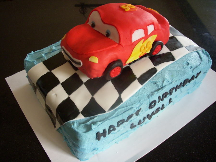 Lightning Mcqueen Cake on Cake Central