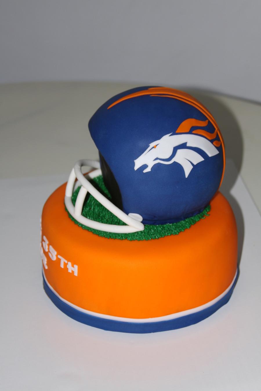 Denver Broncos Birthday Cake Images