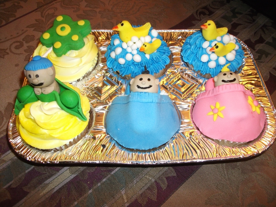 Baby Shower Cup Cakes on Cake Central