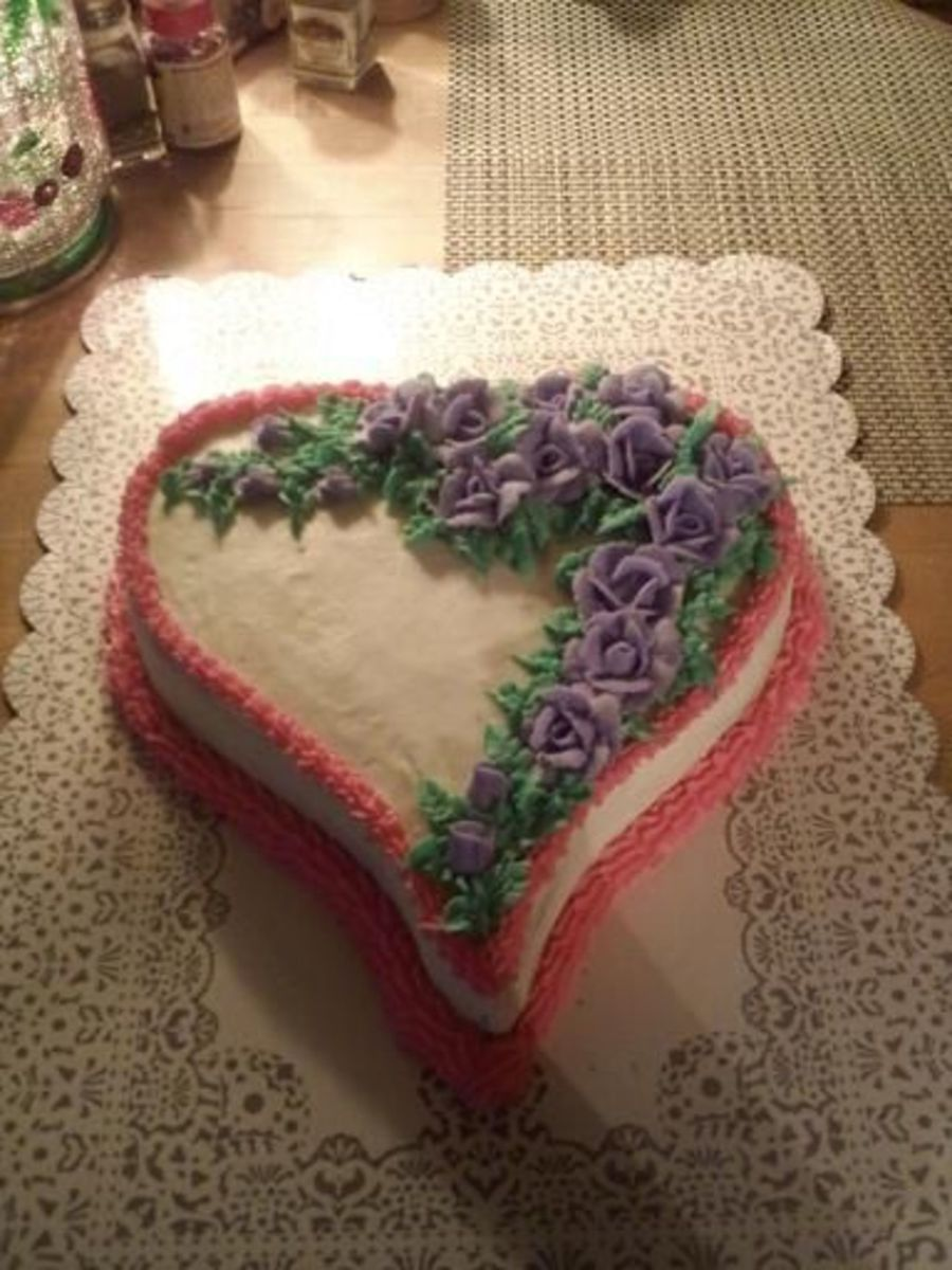 Lilac Love Cake on Cake Central