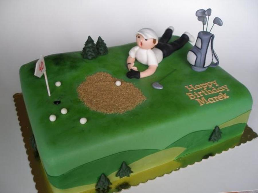 Lots Of Golf! on Cake Central