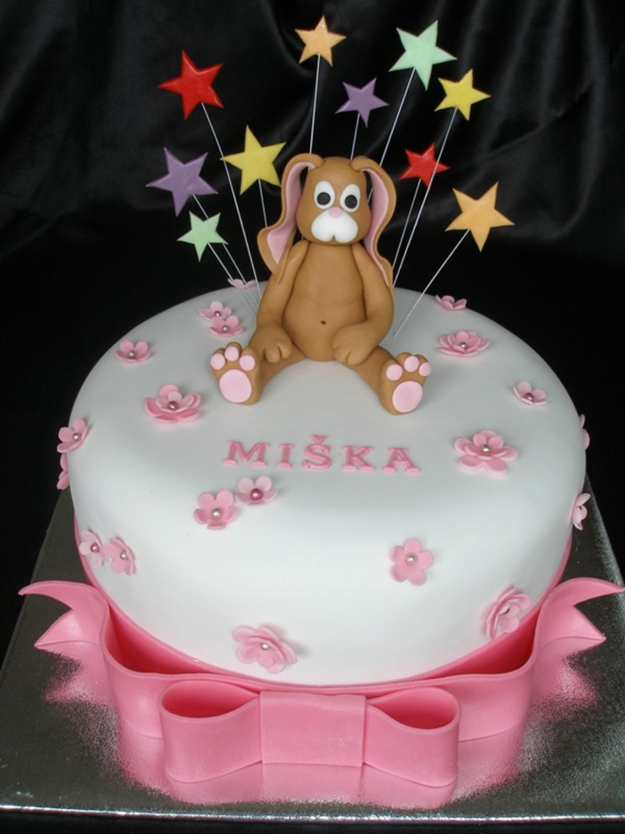 Star Bunny on Cake Central