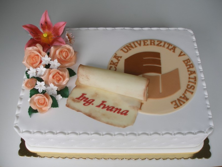 Graduation From The University Of Economics In Bratislava on Cake Central