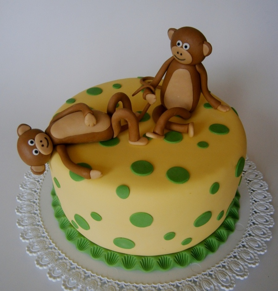 Monkey Business on Cake Central