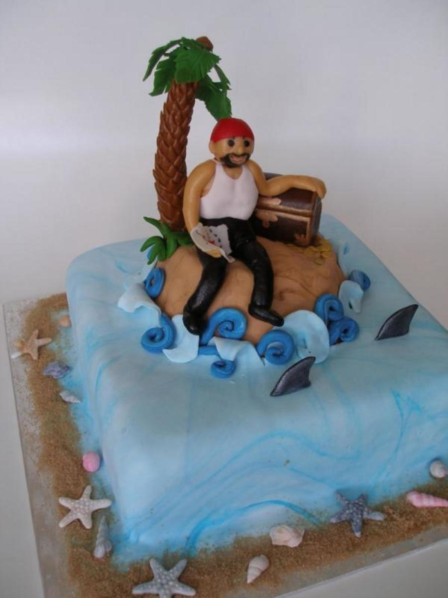 The Pirate's Island on Cake Central