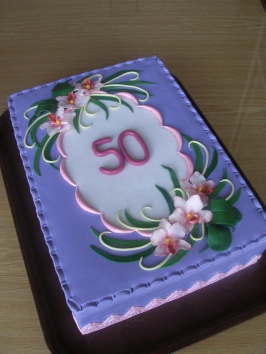 To 50th Birthday Cakecentral Com