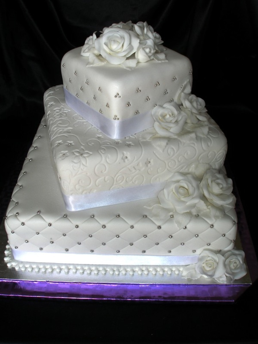 Wedding White on Cake Central