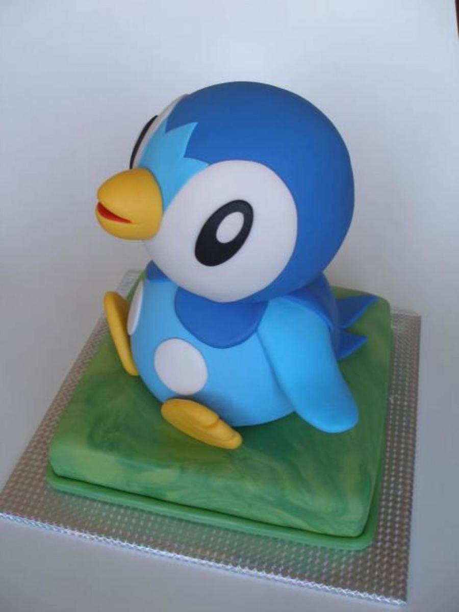 Piplup  on Cake Central