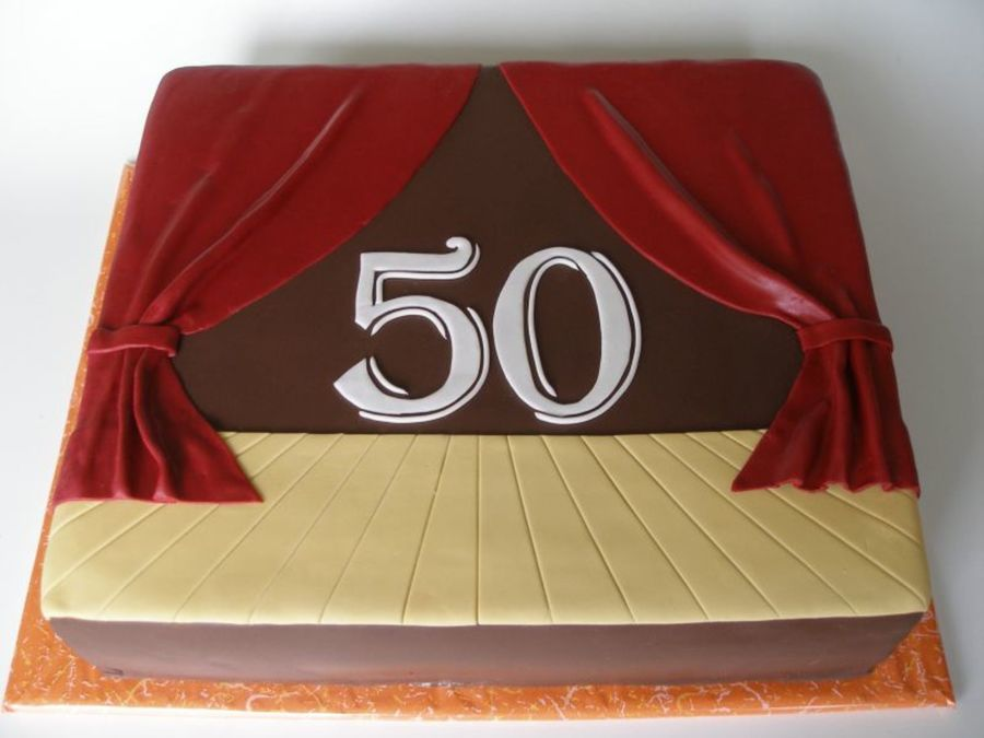 The 50's Stage on Cake Central