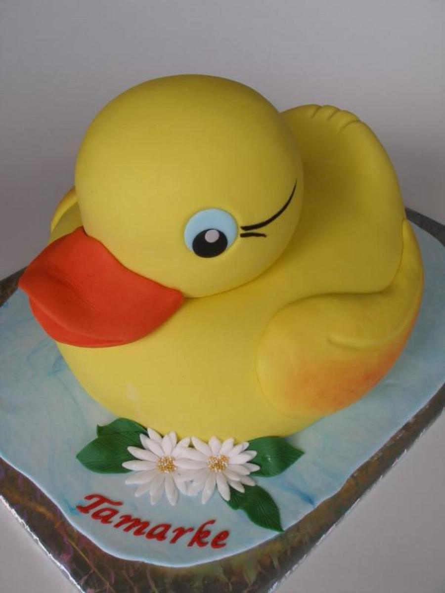 The Little Big Ducky on Cake Central