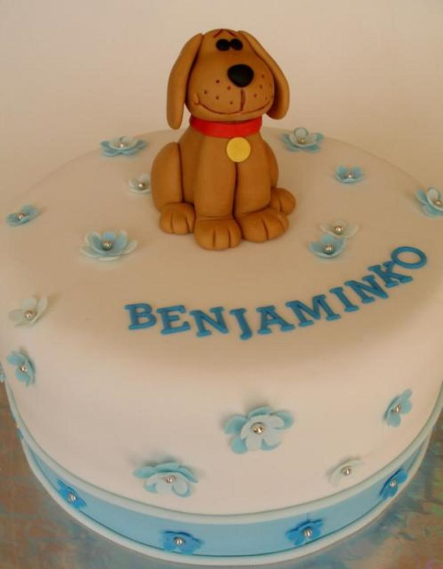 Benjamin's Dog on Cake Central