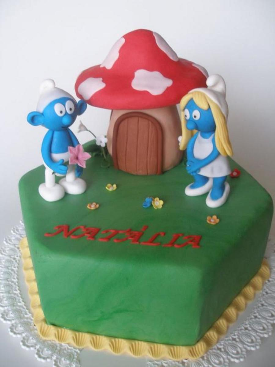 Smurf Birthday on Cake Central