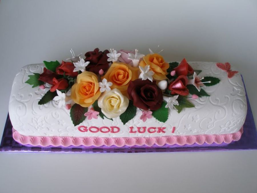 Good Luck In Ireland on Cake Central