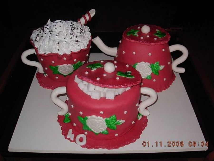Cup Of Love  on Cake Central