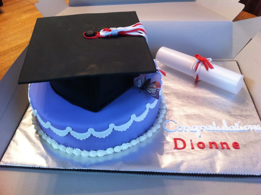 Graduation Cap Cake on Cake Central