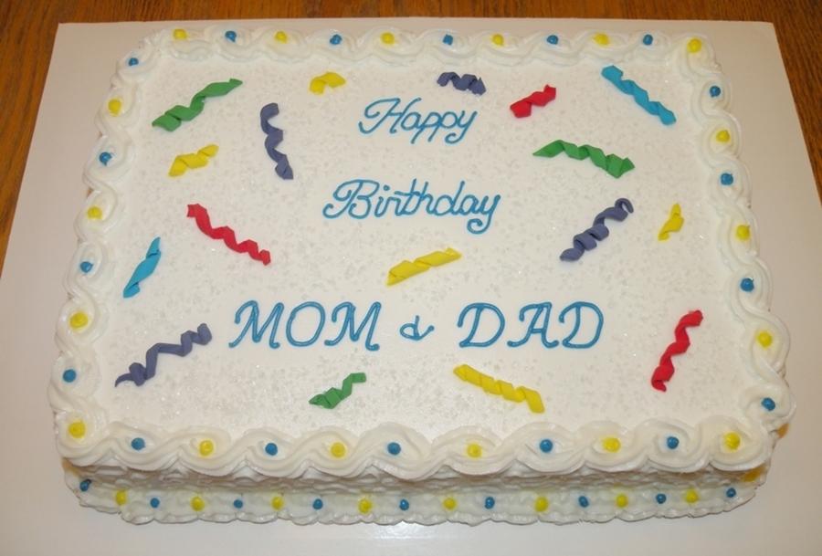 Incredible Confetti Birthday Cake Cakecentral Com Funny Birthday Cards Online Elaedamsfinfo
