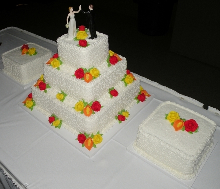 wedding cake for 200 people amp calla wedding cake cakecentral 22699