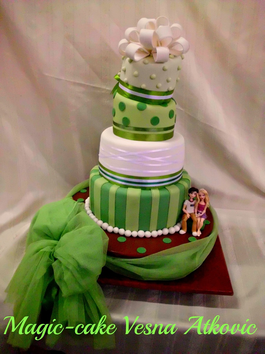 Green Love on Cake Central