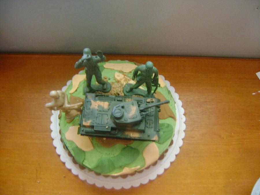 Army Camo Cake Cakecentral