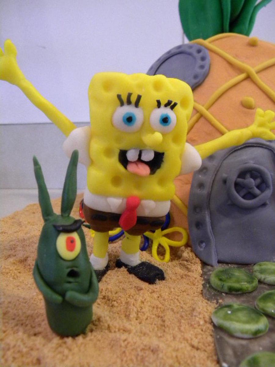 Sponge Bob Bikini Bottom - CakeCentral.com