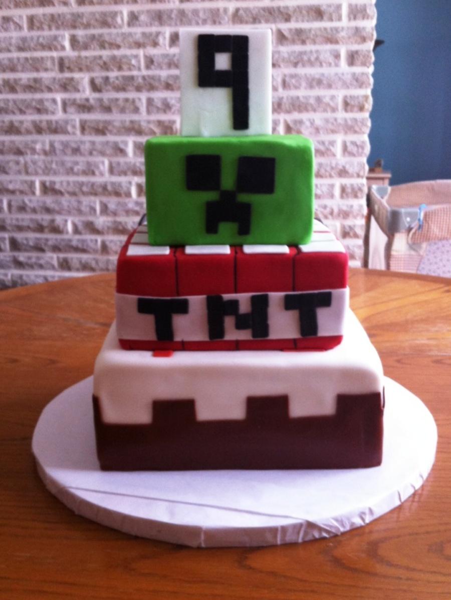 Minecraft Cake Cakecentral Com