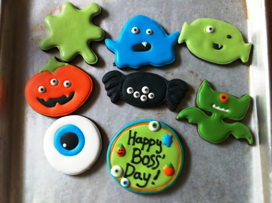 Boss Day Cookies  on Cake Central