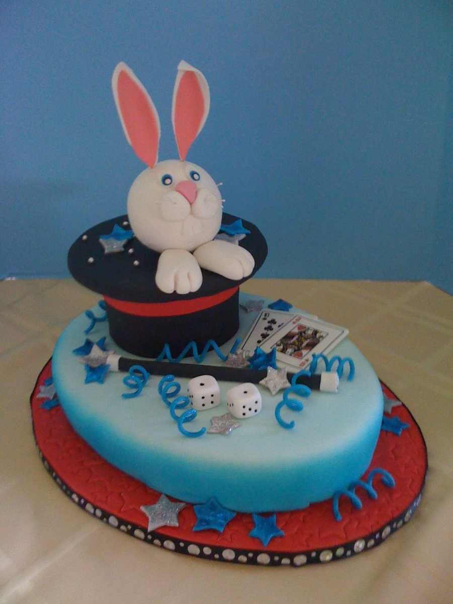 Magic Rabbit on Cake Central