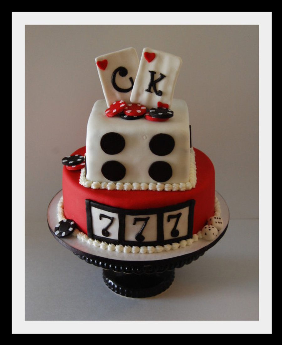 Casino Cake For Engagement Party on Cake Central