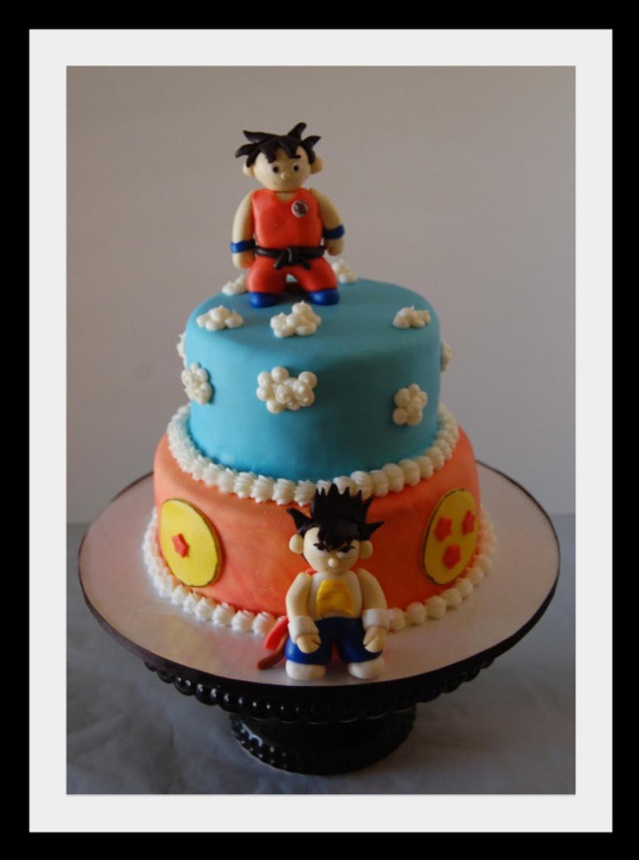 Dragon Ball Z Cake - CakeCentral.com