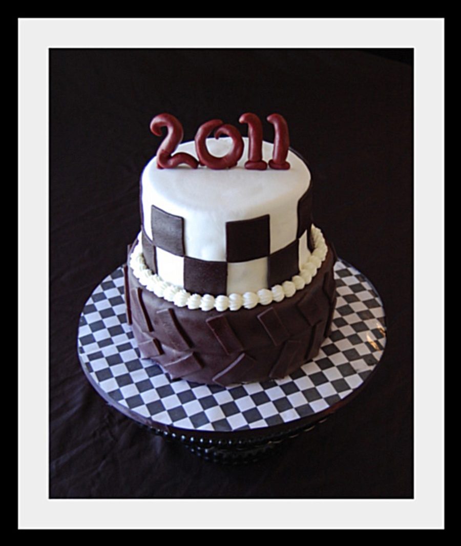 Graduation Cake For A Race Car Driver on Cake Central