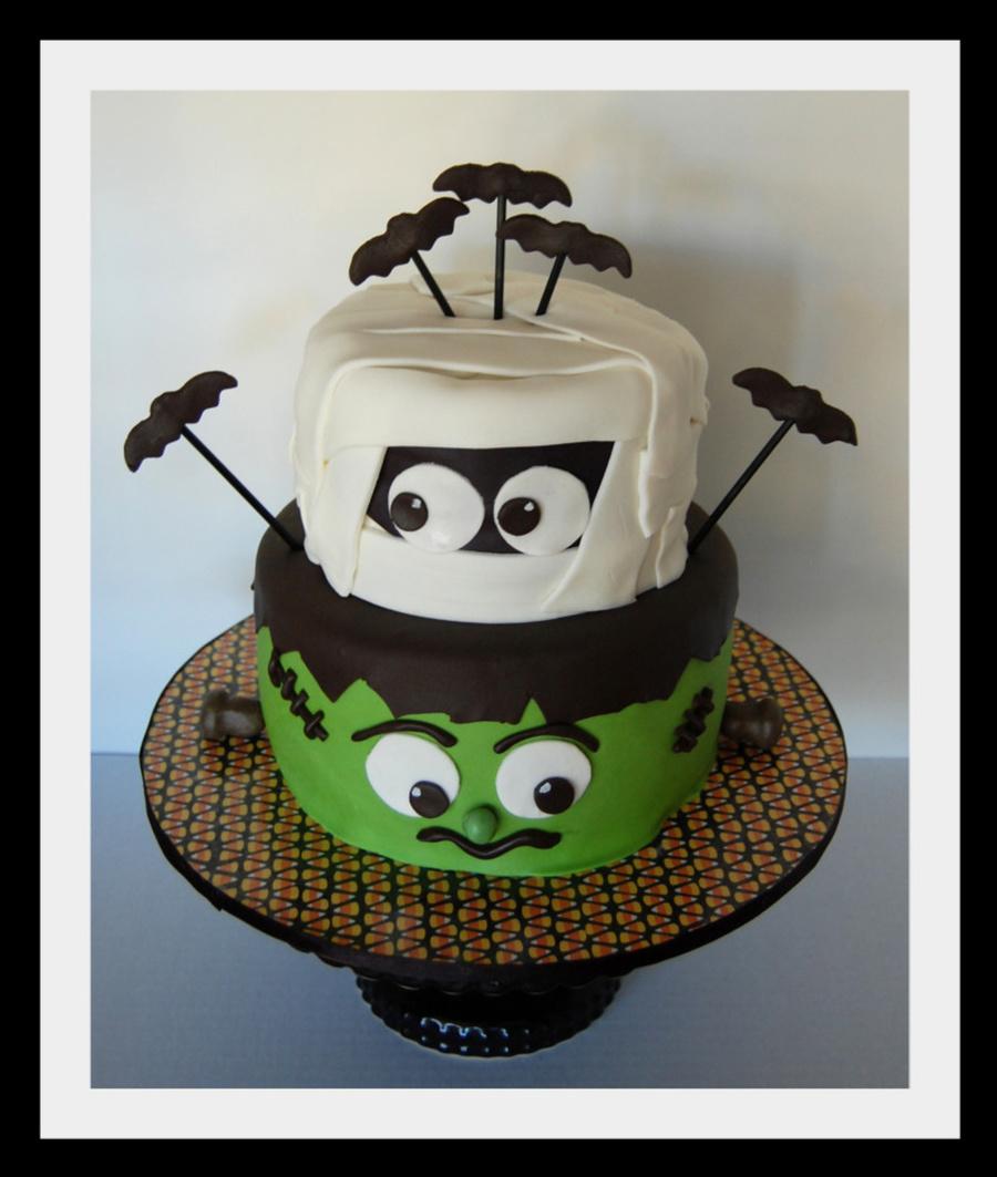 Mummy Frankenstein Cake On Central