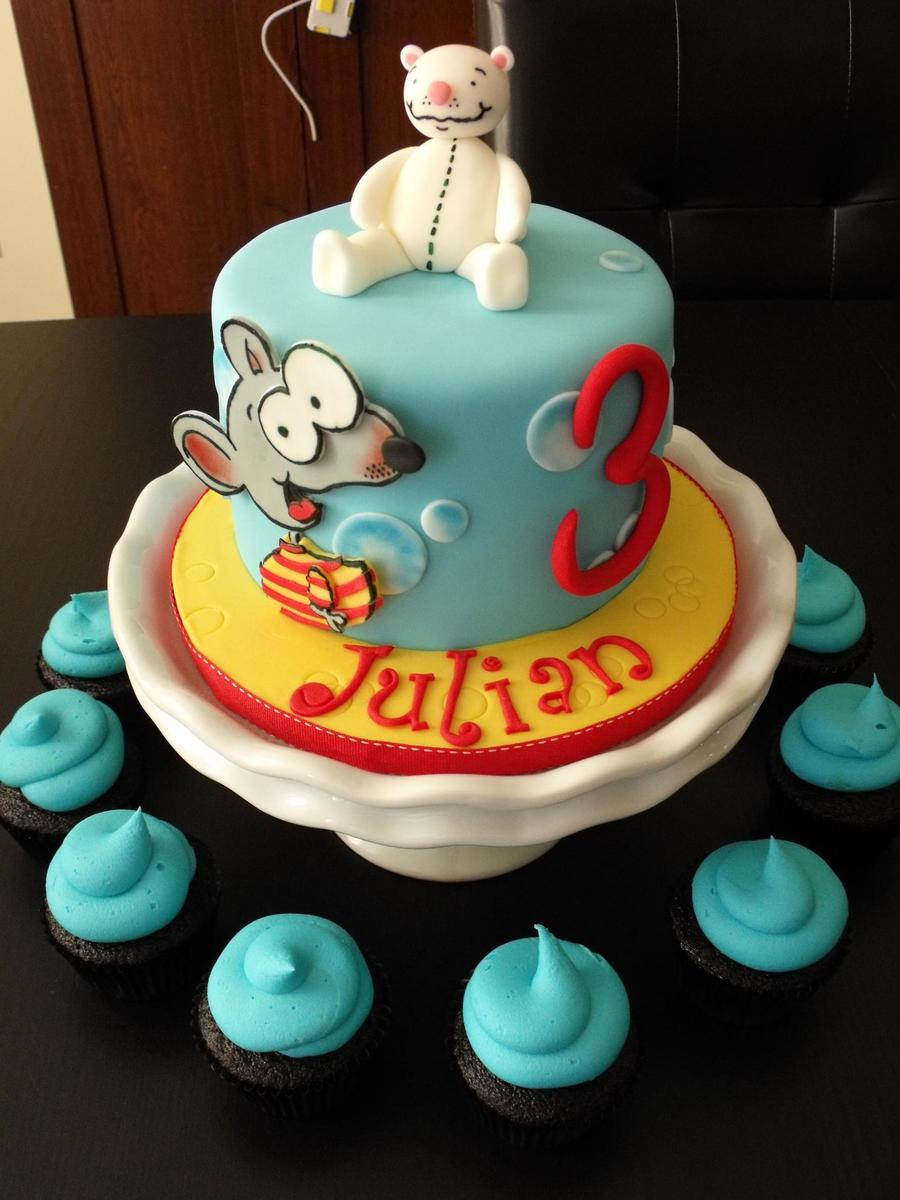 Julian's Toopy And Binoo on Cake Central