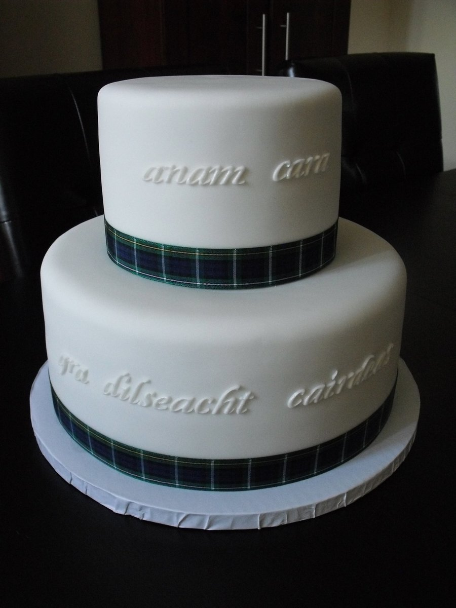 Celtic Wedding on Cake Central