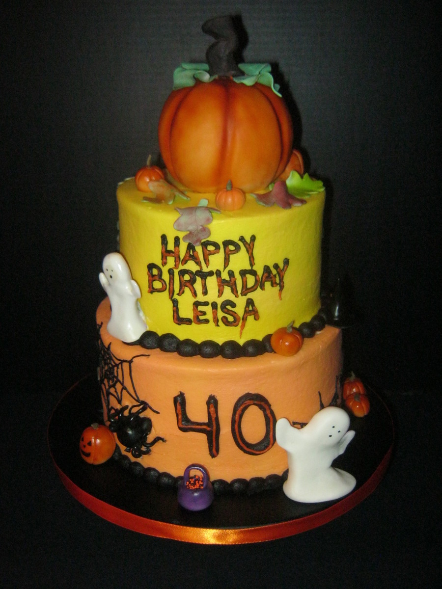 Buttercream Cakes Pumpkin Is Styrofroam Covered With Fondant on Cake Central