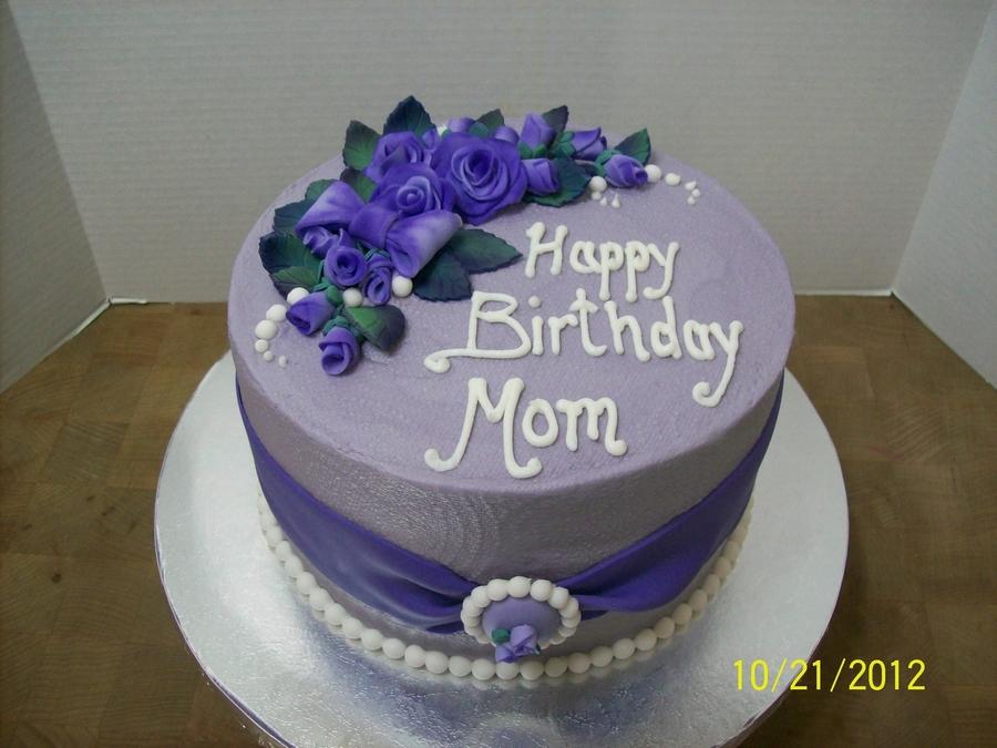 Moms Birthday Cake Cakecentral Com