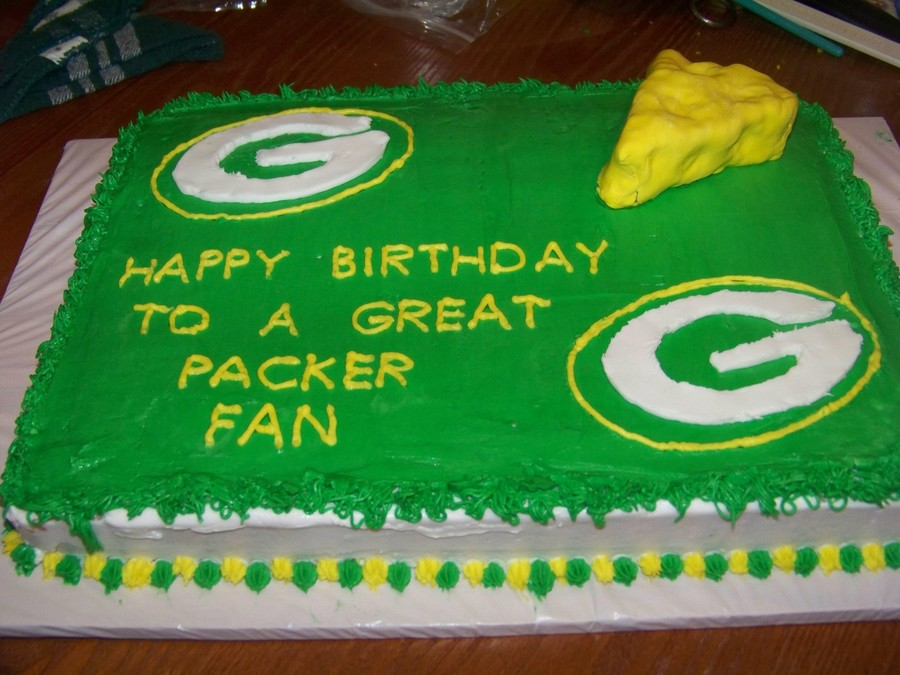 Green Bay Packer Birthday Cakecentral