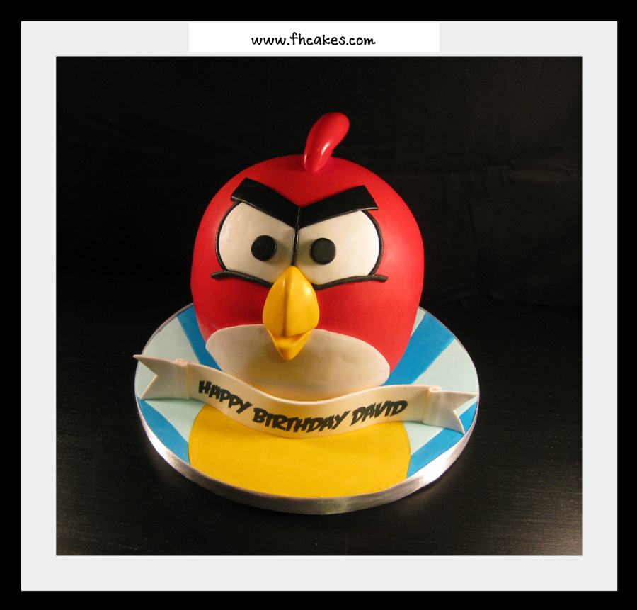 Red Bird on Cake Central
