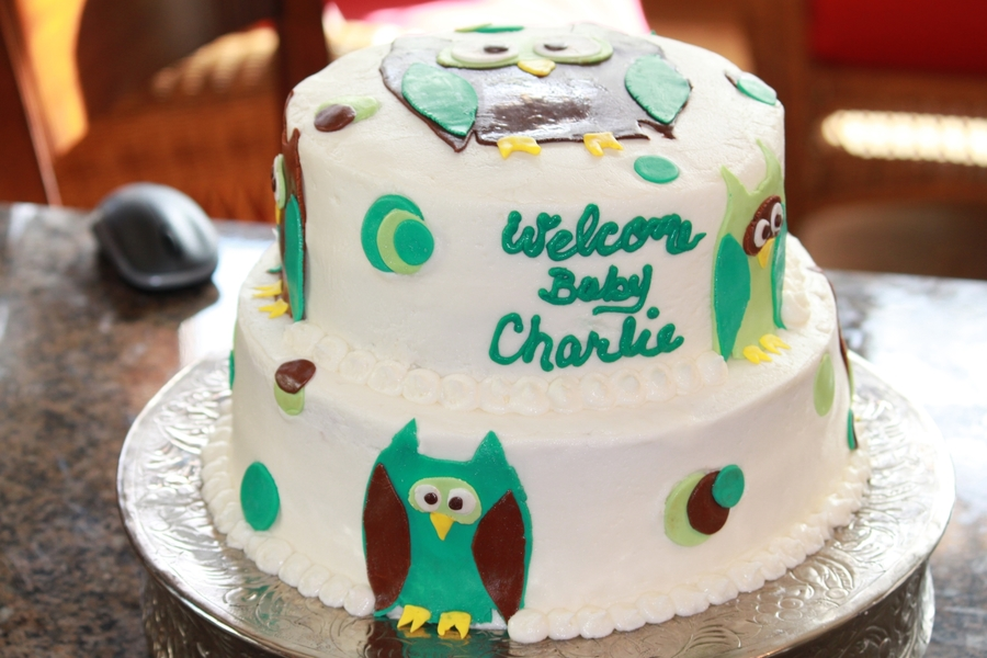 Baby Charlie on Cake Central