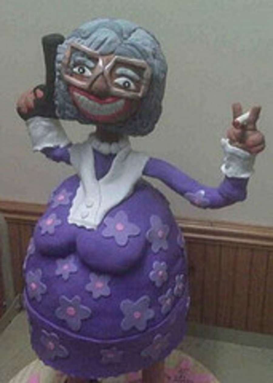 Tyler Perry's Madea Cake on Cake Central