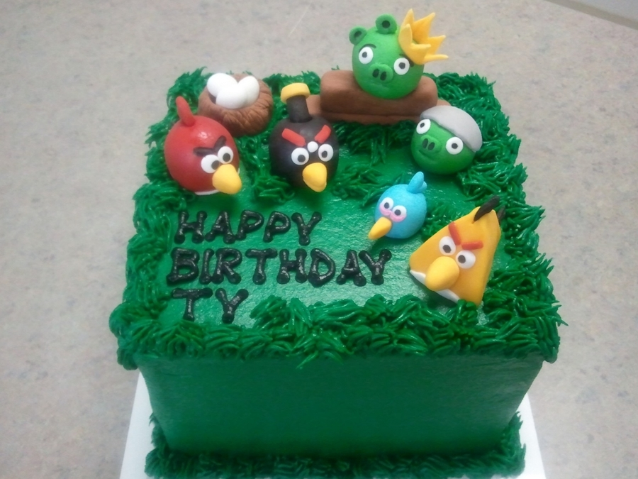 Angry Birds on Cake Central