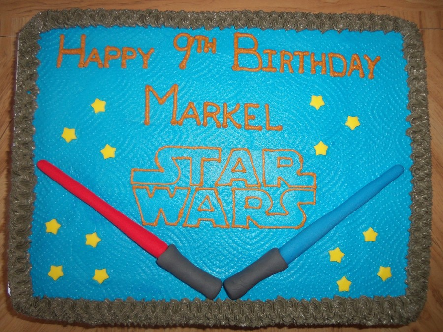 Star Wars Themed Party on Cake Central