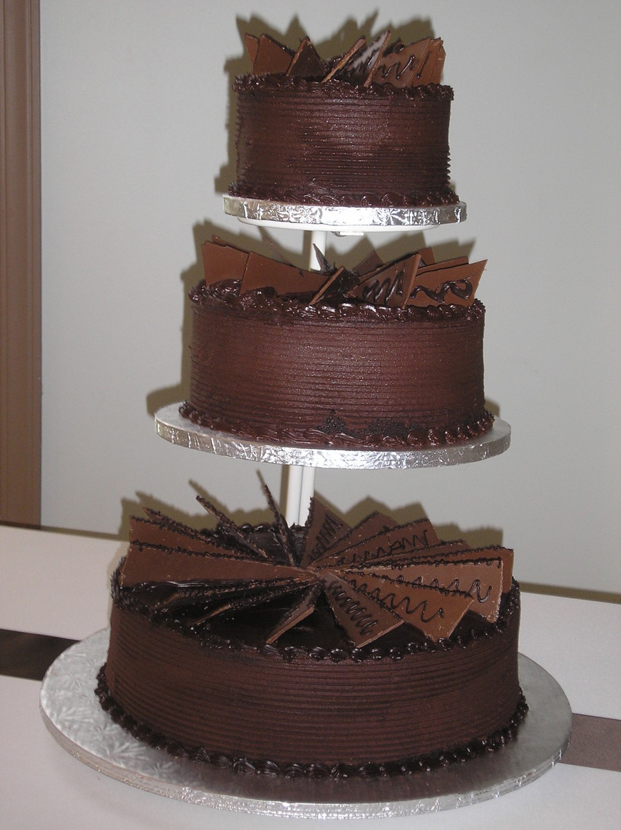 Tripple Chocolate Grooms Cake on Cake Central