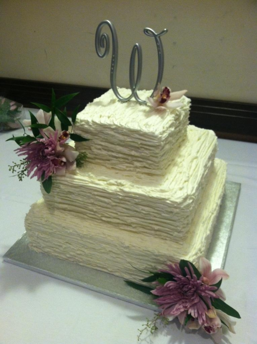Elegant Wedding on Cake Central