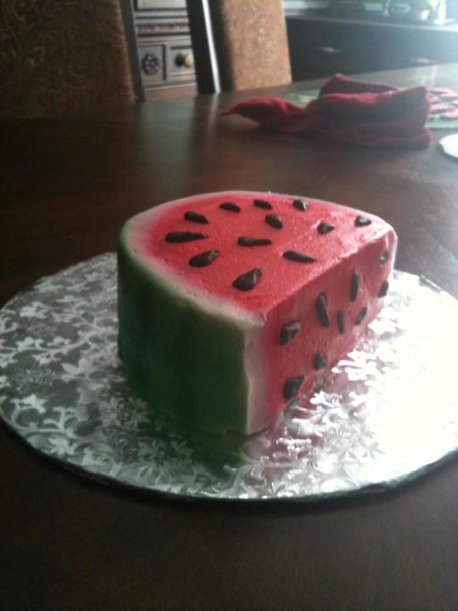 Watermelon Smash Cake Cakecentral Com