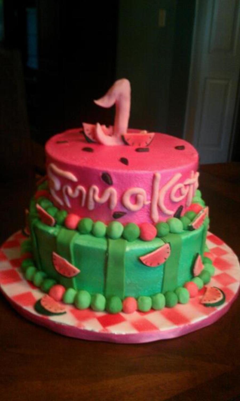 watermelon birthday cake cakecentral com on birthday cake ki photos