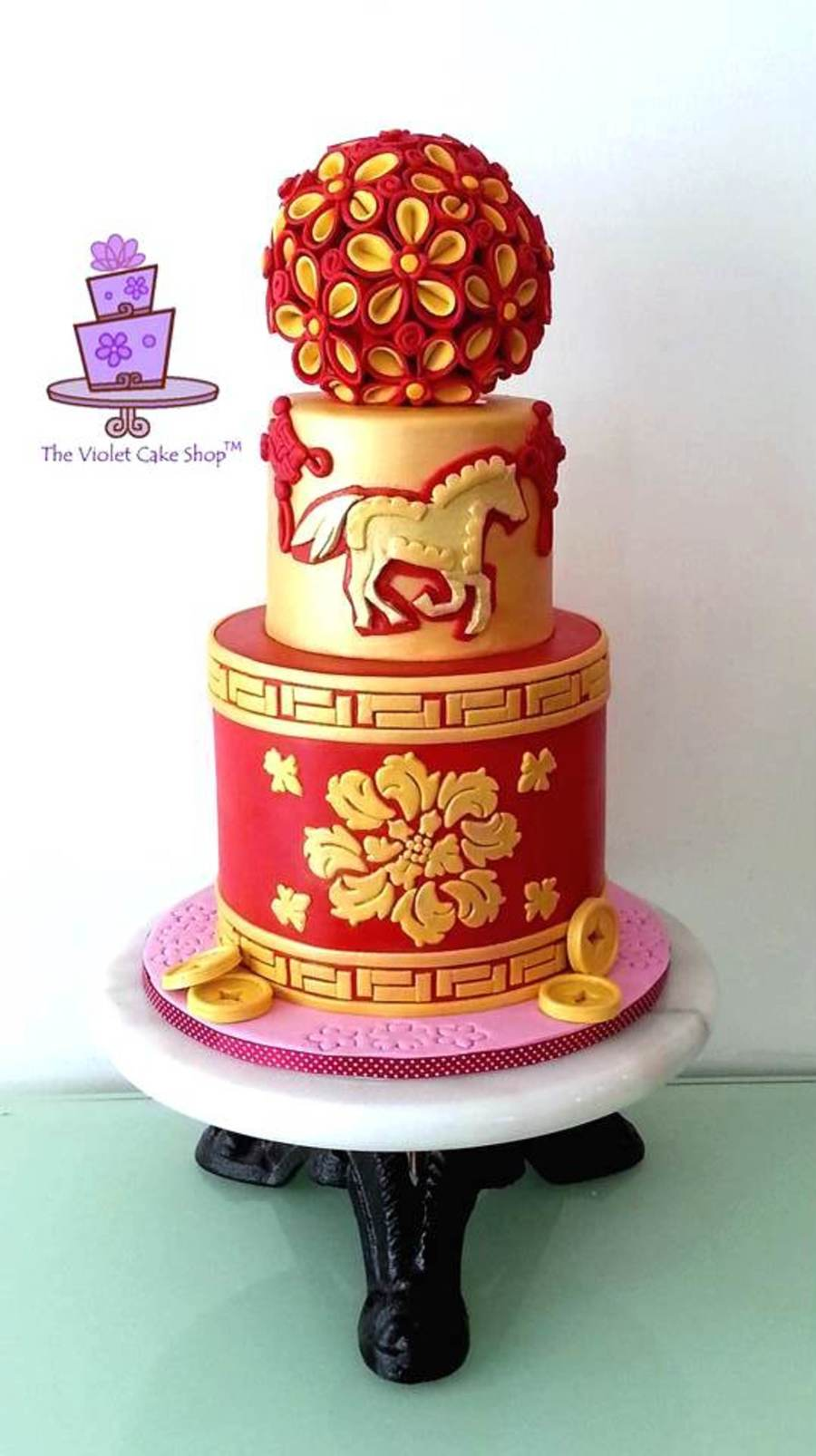 Year Of The Horse Chinese New Year - CakeCentral.com