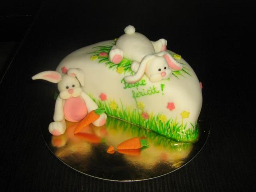 Another Bunny Easter Cake on Cake Central