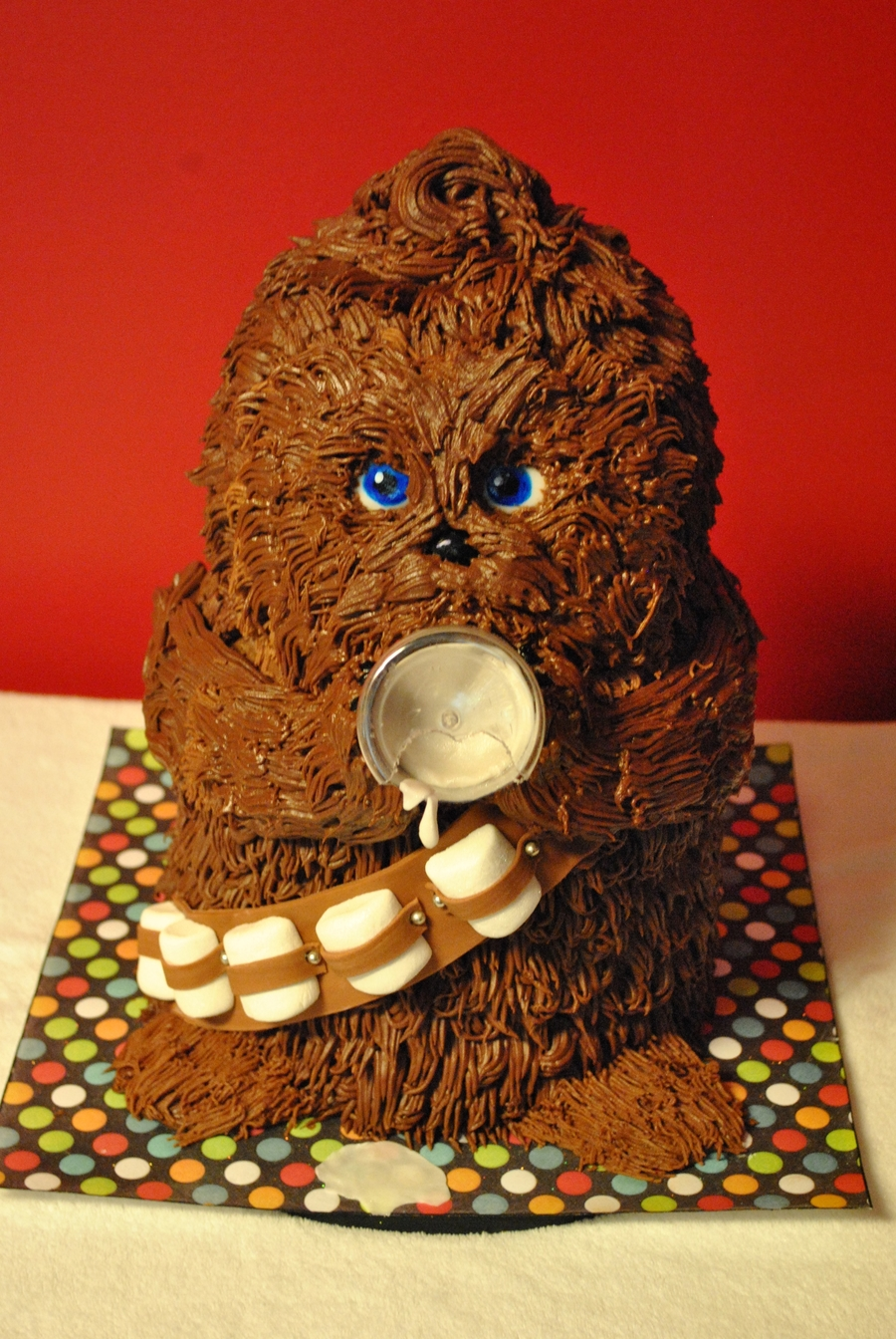 Baby Chewbacca on Cake Central